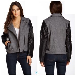 Triple Five Soul Moto Wool Blend Jacket